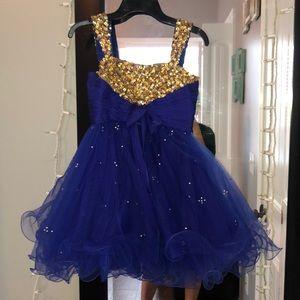 Little girls size 8 Sherri Hill Dress